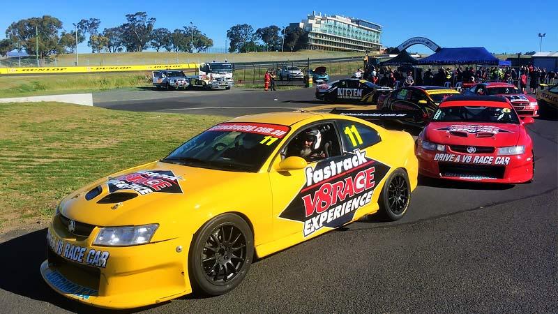 V8 Drive & Hot Laps (FRONT SEAT EXCLUSIVE!), 11 Lap Combo - Sandown Raceway, Melbourne