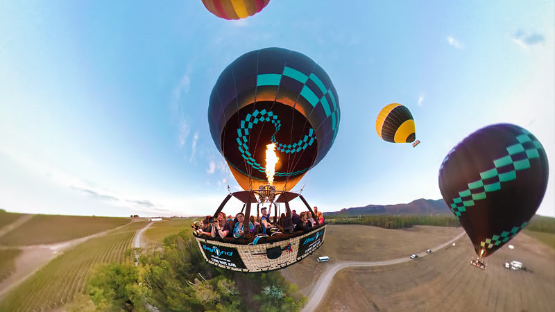 Hot Air Balloon Ride & Breakfast - Hunter Valley