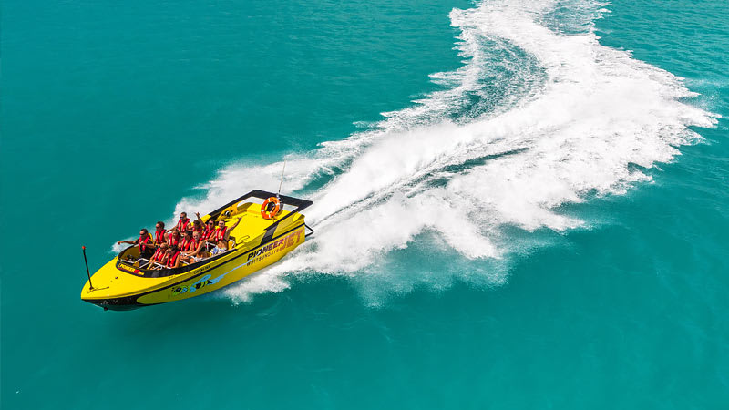 Jet Boat & Banana Boat Combo Package - Airlie Beach
