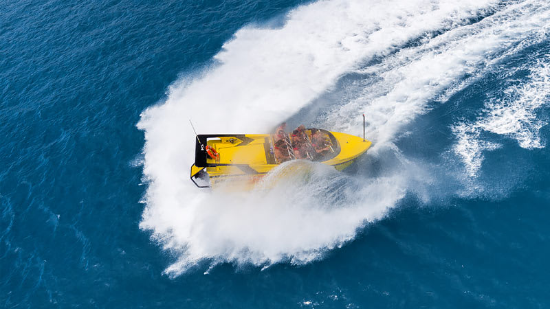 Jet Boat Thrill Ride - Airlie Beach