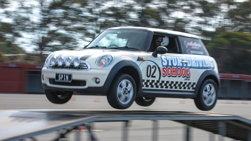 Stunt Driving School, Sandown Raceway, Melbourne