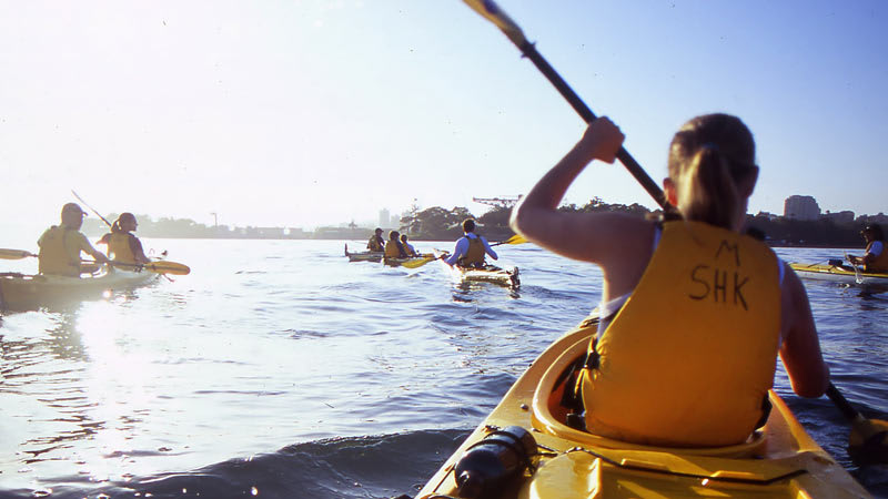 Sea Kayaking, Middle Harbour Eco Tour with Morning Tea, Sydney