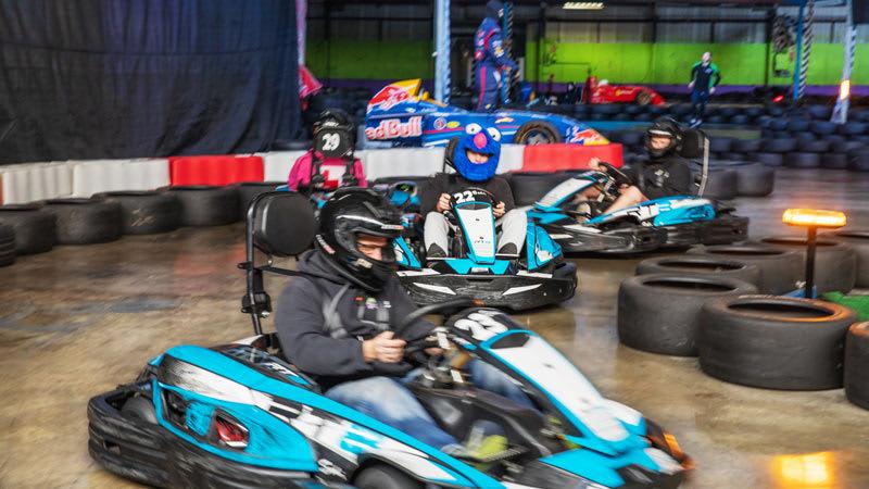 Indoor Go Karting, 2 Sessions - Sydney