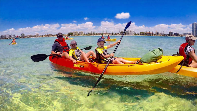Kayaking & Snorkeling Tour, 2,5 Hours - Gold Coast