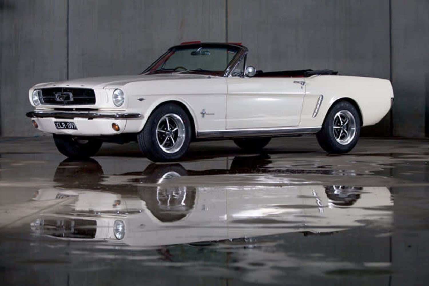 1965 Ford Mustang Convertible Car Hire, Full Day, Midweek – Moorabbin