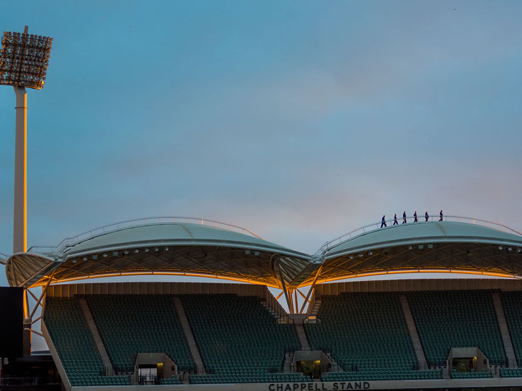 Adelaide Oval Roof Climb - Twilight