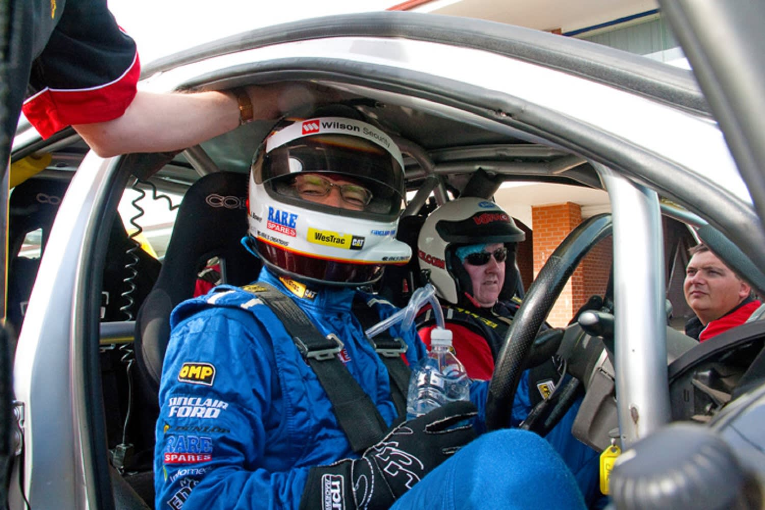 V8 Drive & Hot Laps (FRONT SEAT EXCLUSIVE!), 11 Lap Combo - Mallala, Adelaide