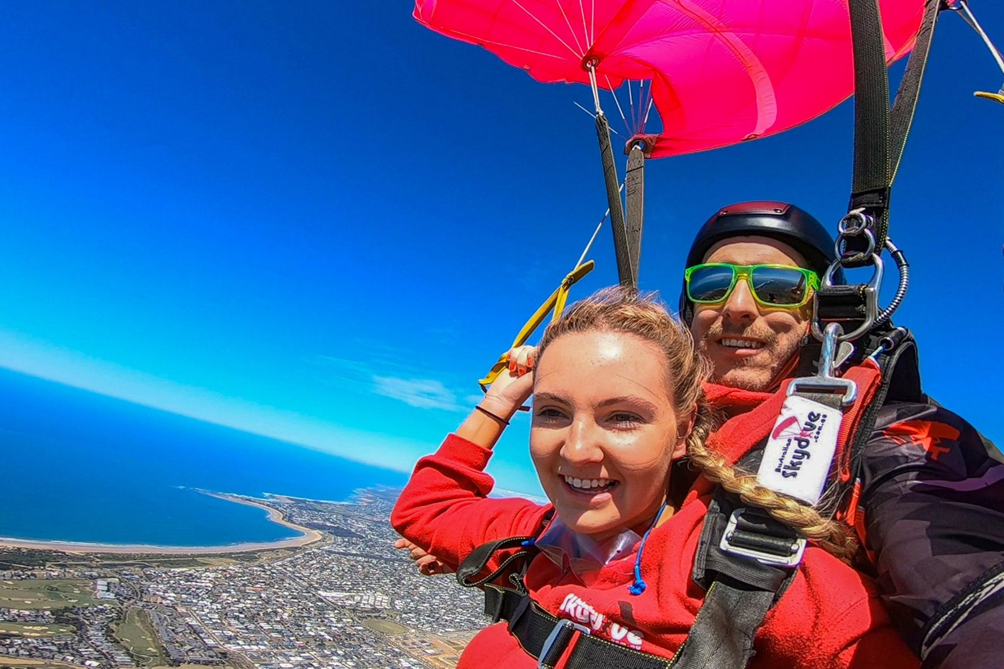 Skydiving Great Ocean Road (Torquay) - Tandem Skydive up to 15,000ft