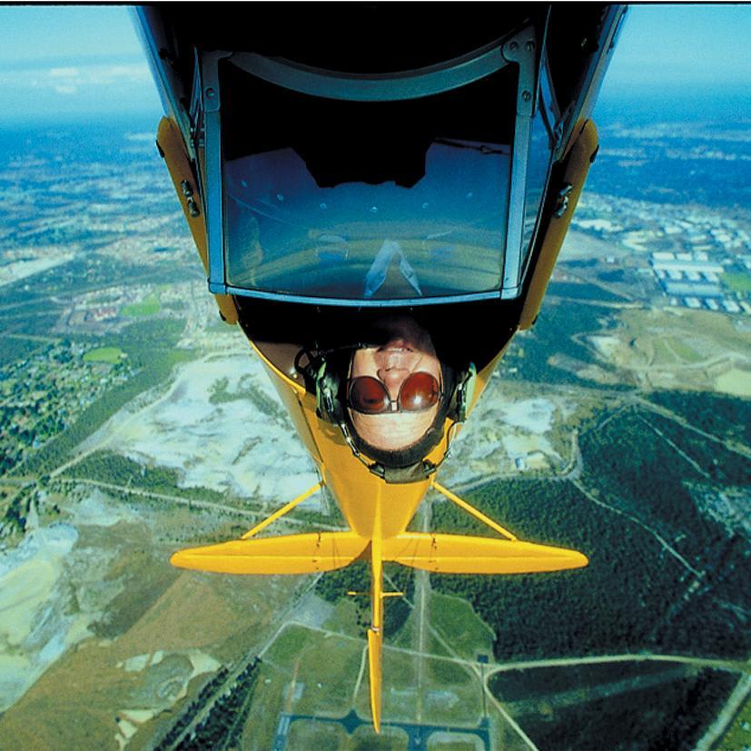 Tiger Moth Scenic Flight with optional Aerobatics, 45 Minutes - Perth