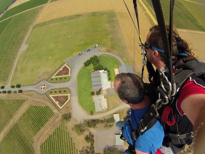 Skydive 9,000ft Over McLaren Vale Adelaide - Vineyard Landing!