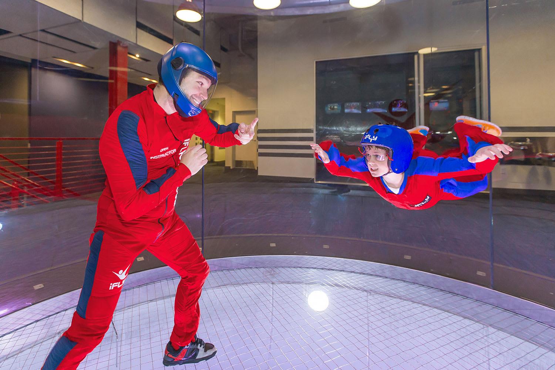 iFLY Brisbane Indoor Skydiving, 2 Flights - Midweek