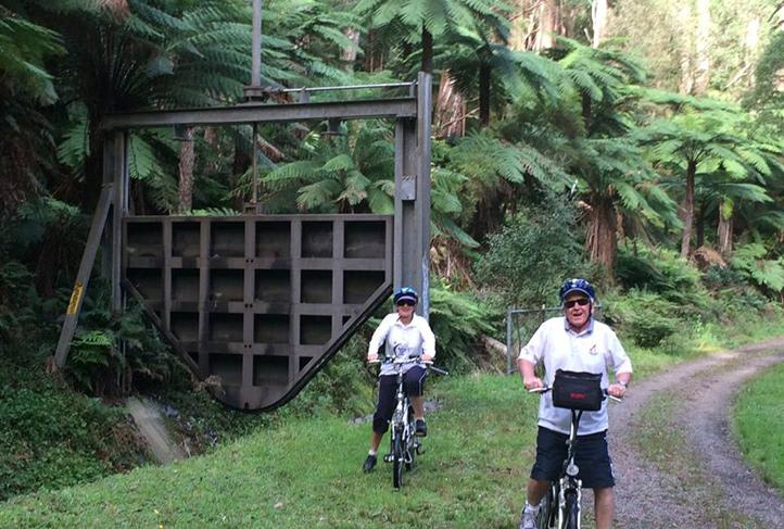 Electric Bike Tour - O'Shannassy Aqueduct Trail, Melbourne