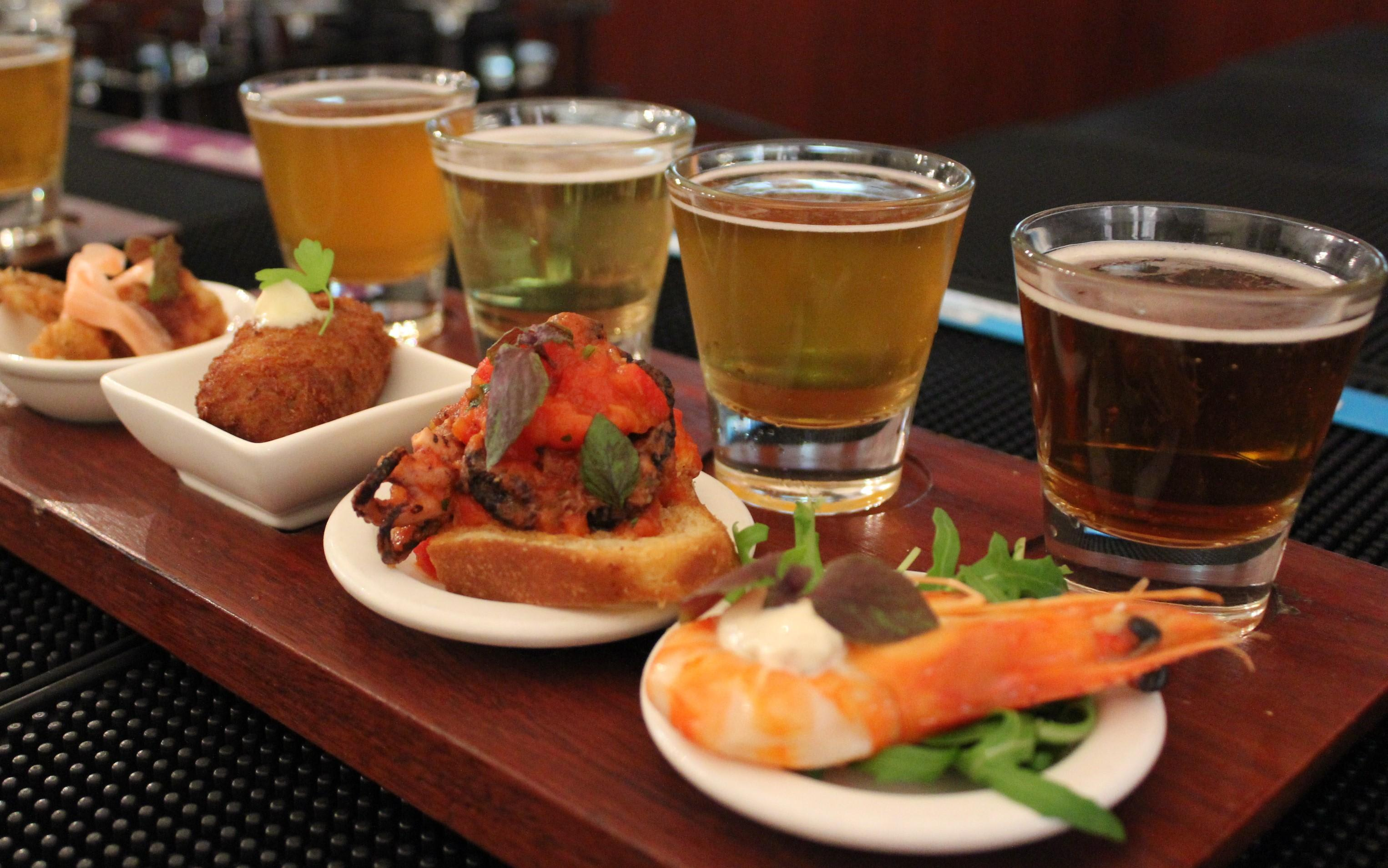 Beer and Canapes Tasting Board, Sydney - For 2