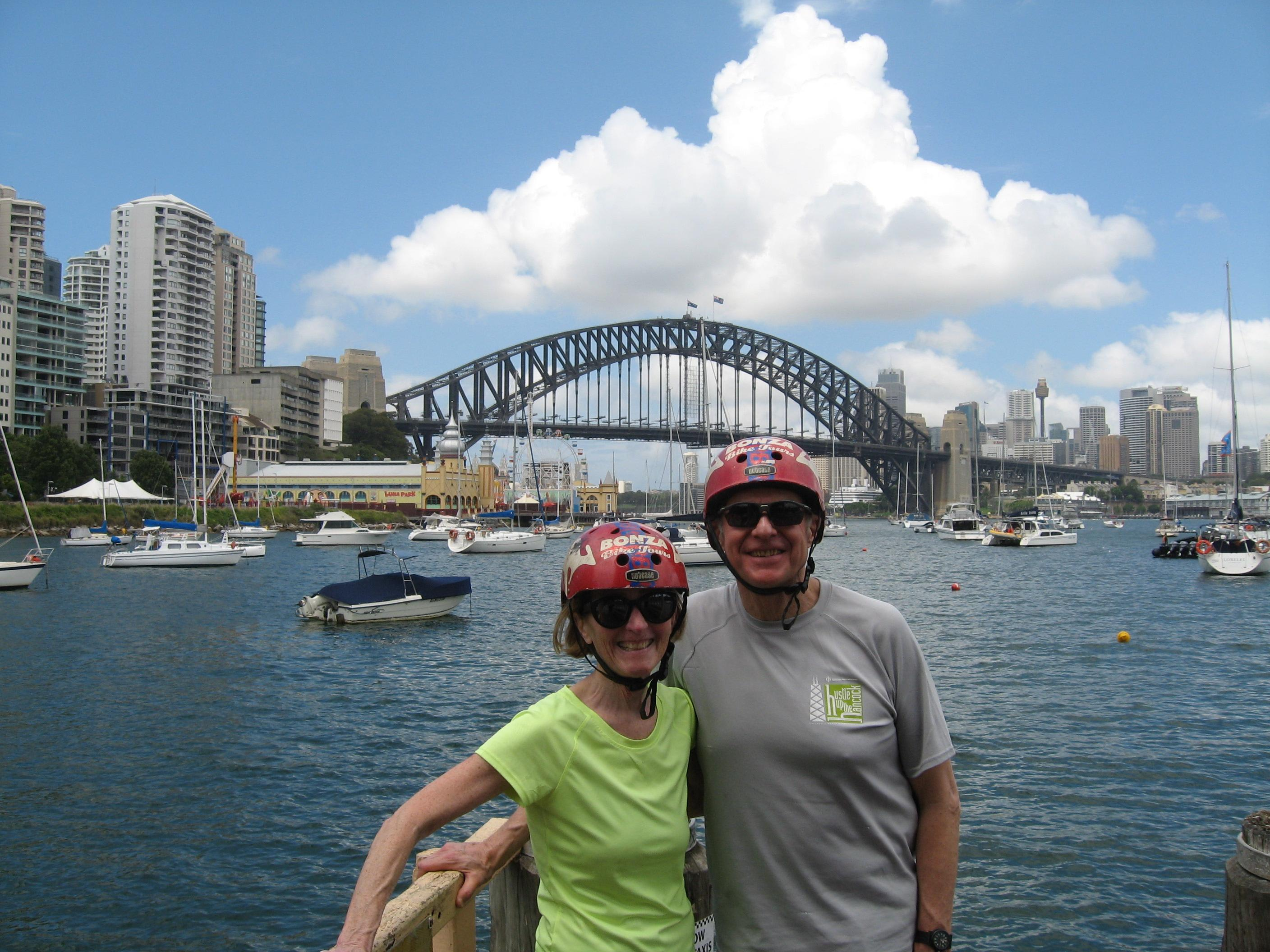 Bike Tour over the Sydney Harbour Bridge with Lunch