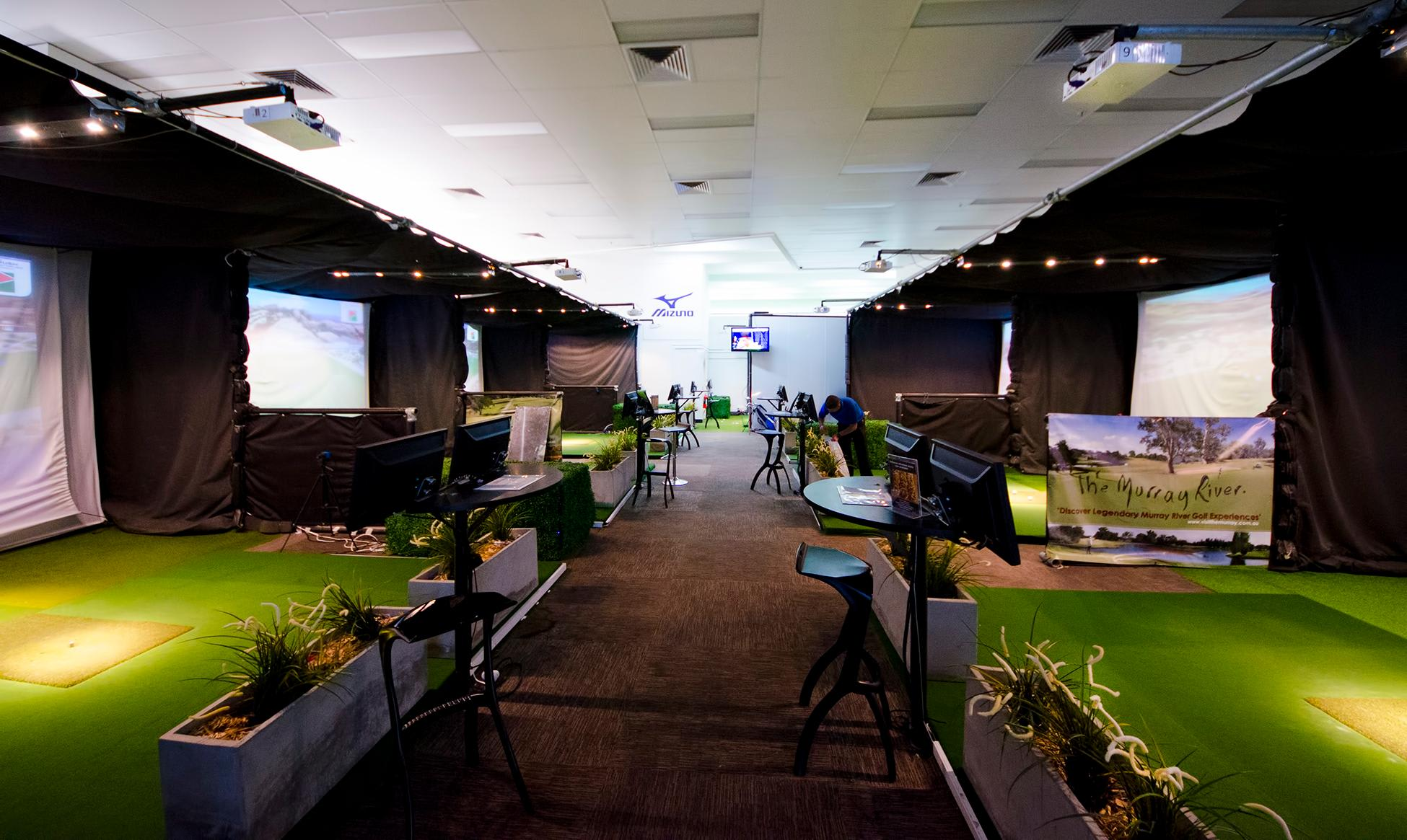 Golf Simulator, Melbourne - 1 Month Membership and 30 Minute Lesson