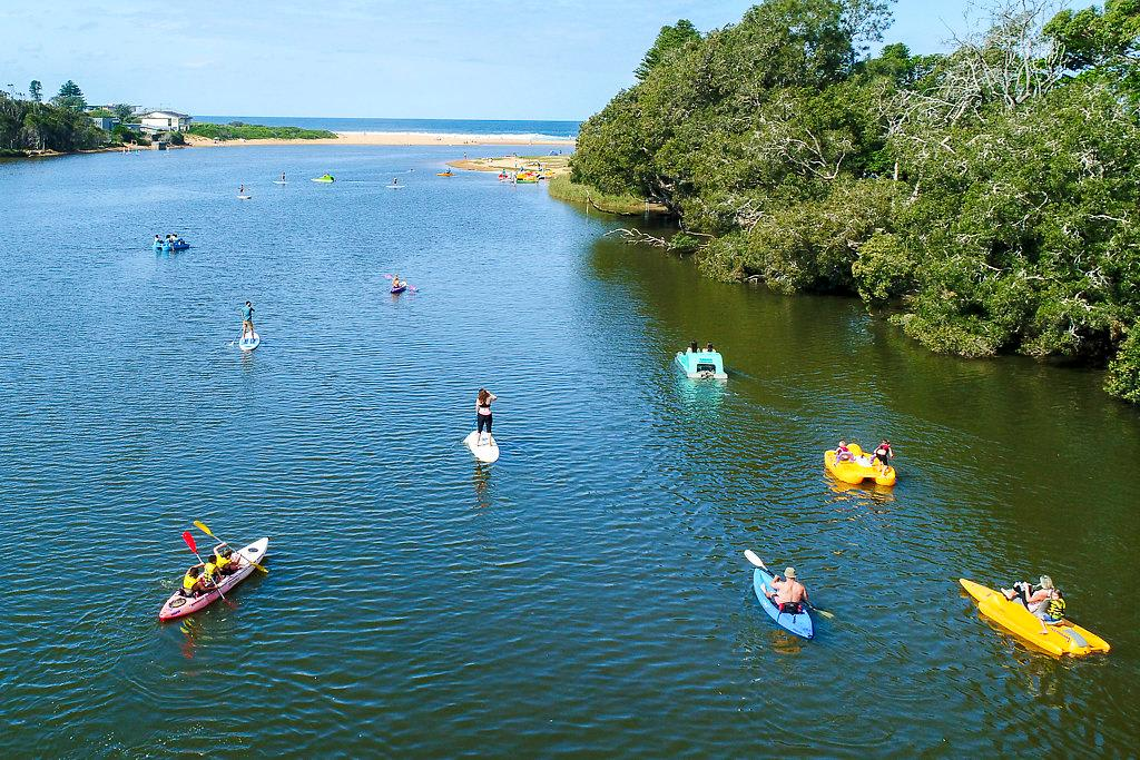 Paddle Board, Kayak and Pedal Boat Hire - 60 Minutes - For 2