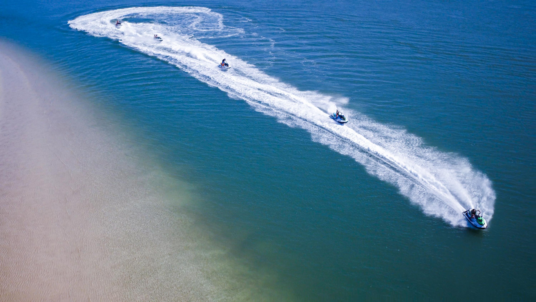 30 Minute Jet Ski Safari Guided Ride, Gold Coast - For 2