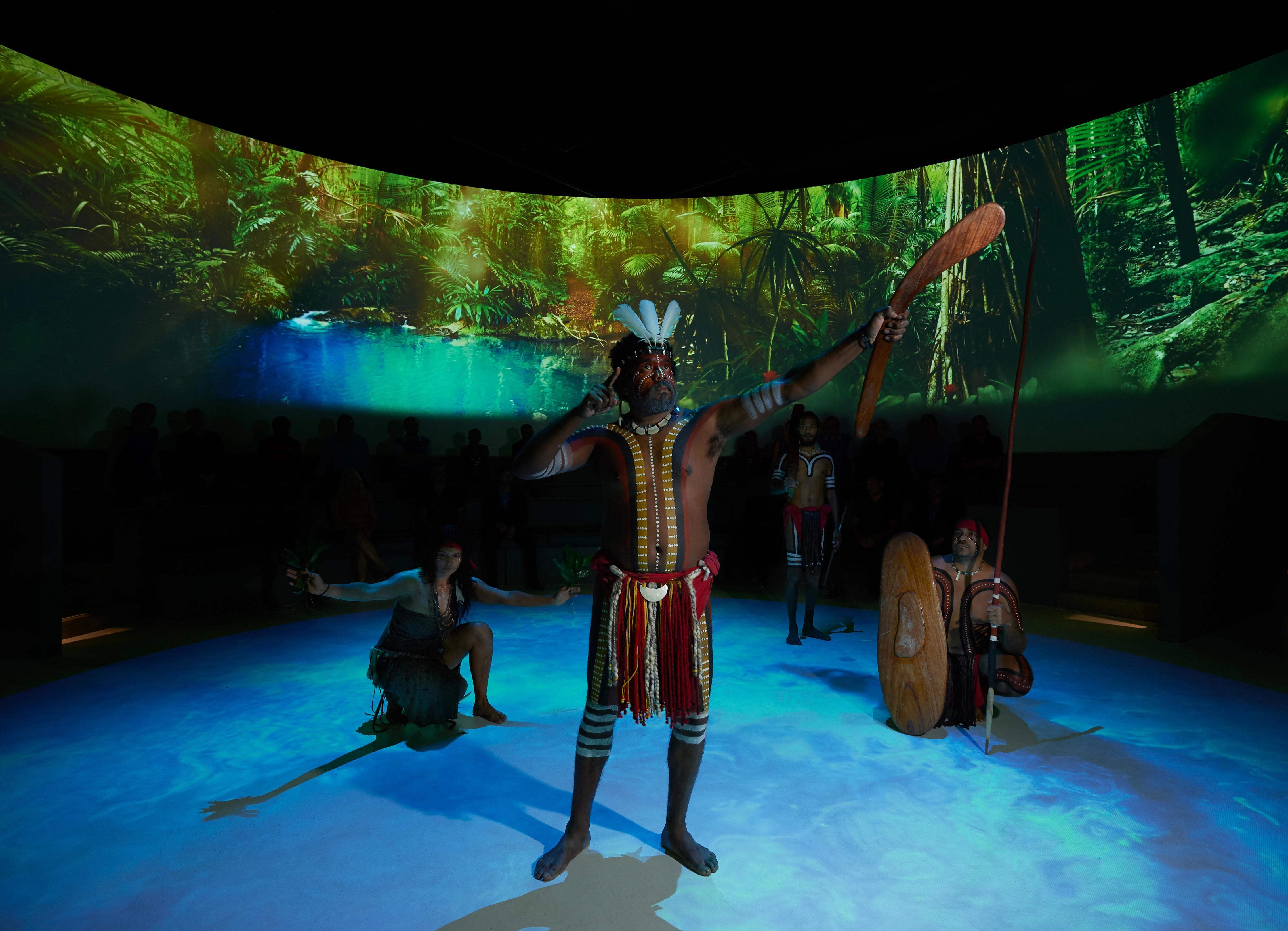 Tjapukai by Day - Aboriginal Cultural Tour, Cairns - Family