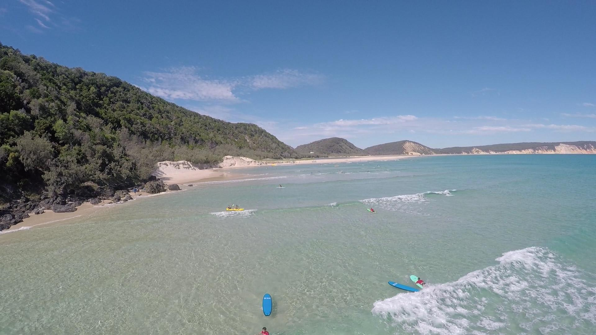 Stand Up Paddling and 4WD Adventure, Noosa