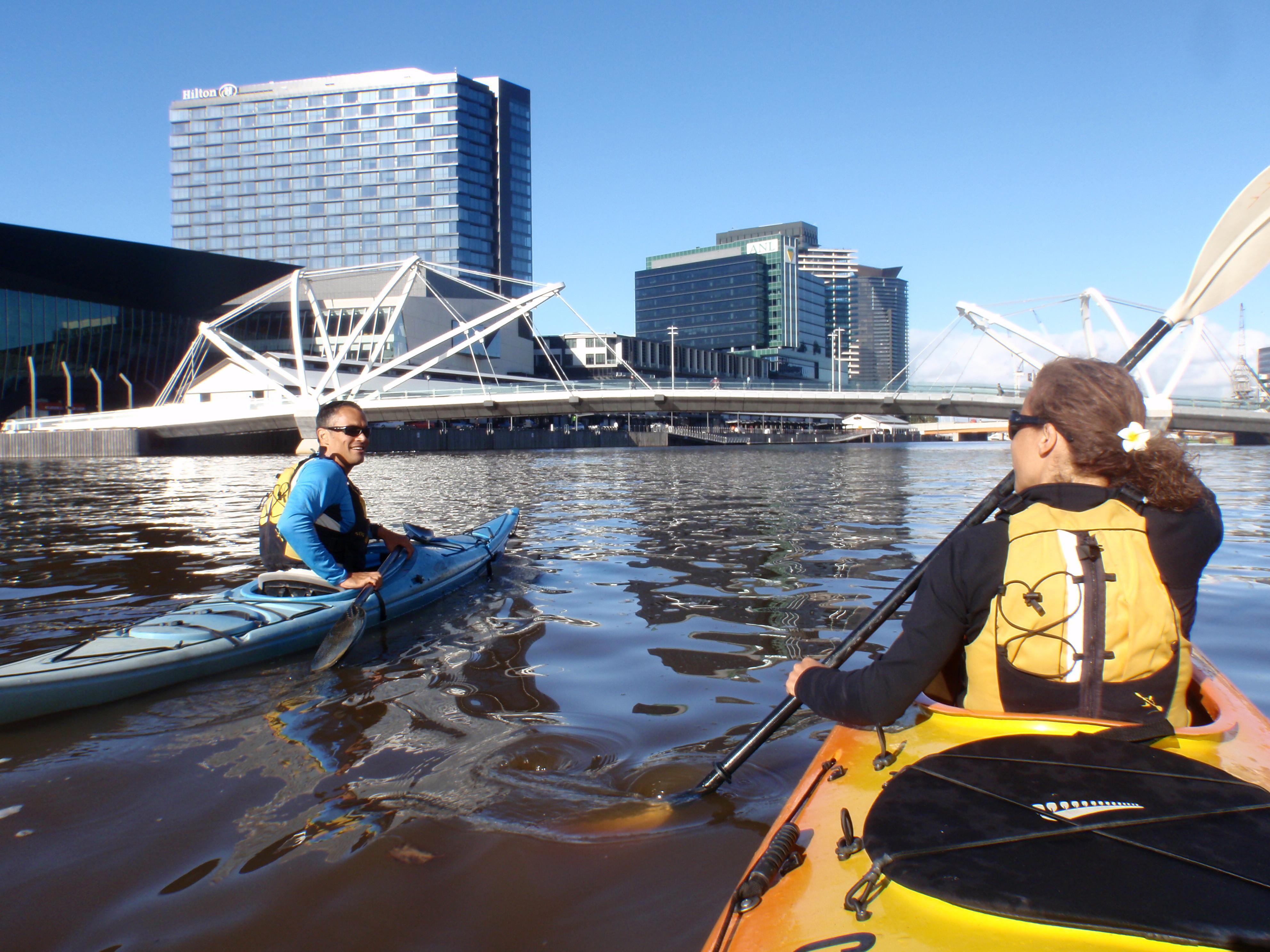 Melbourne City Kayak Tour, Yarra River - For 2