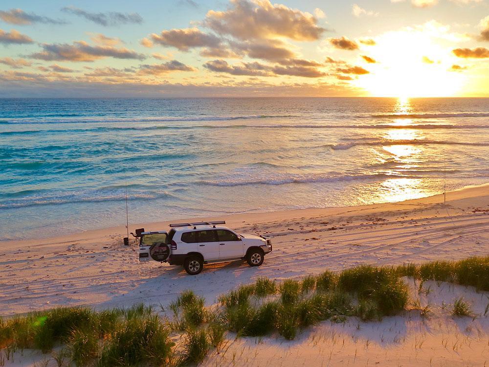 4WD Beach Fishing Safari, Perth