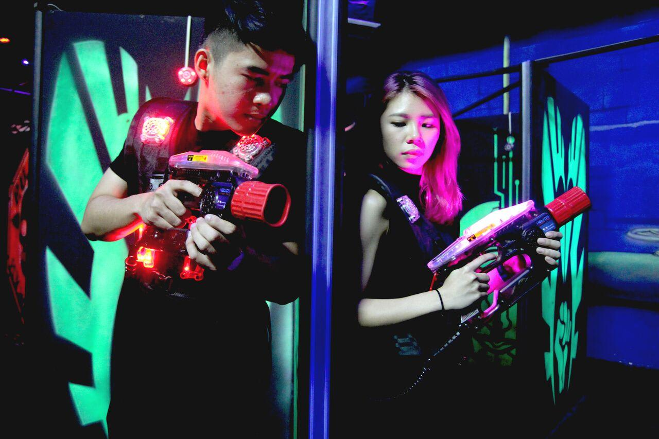 2 Hour Unlimited Laser Tag Pass, Brisbane