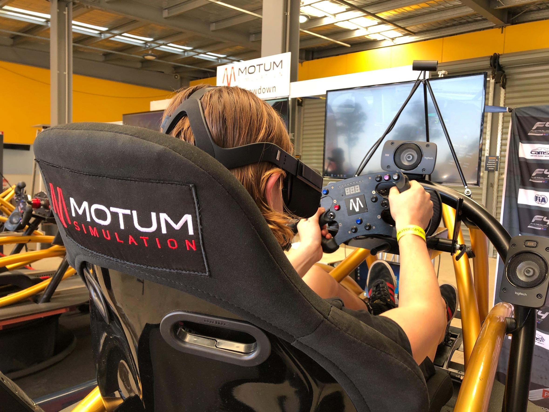 Virtual Reality Racing Experience - 60 Minute Simulator