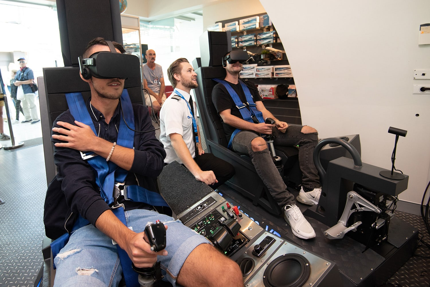 Virtual Reality - Jet Fighter Experience - 15 minutes