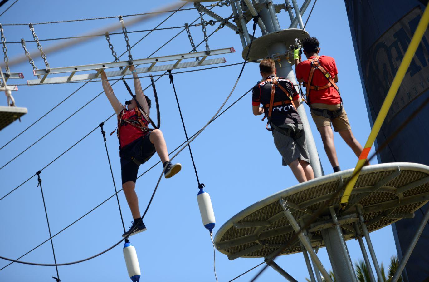 Mega Adventure Obstacle Park Admission, Adelaide