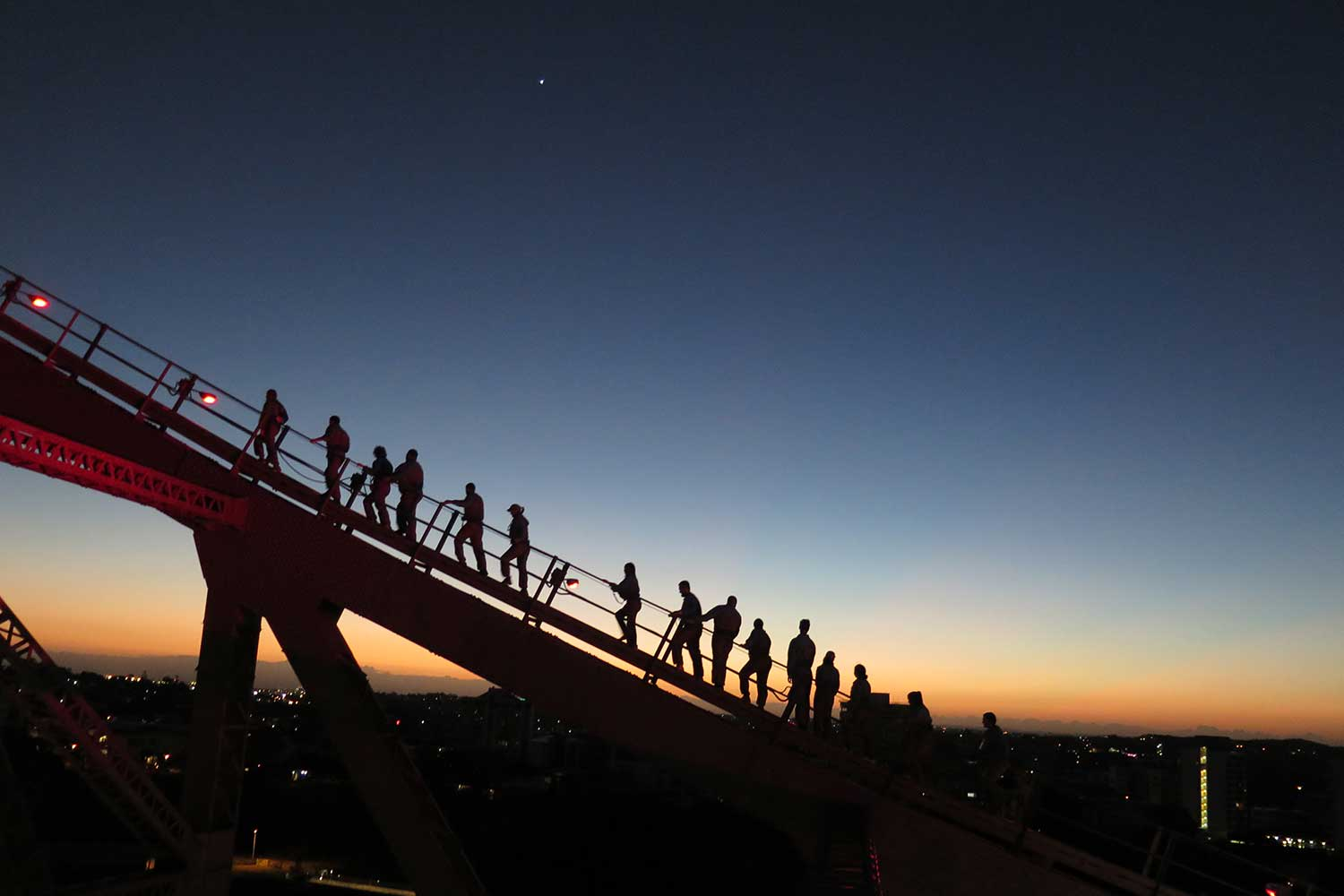 Story Bridge Adventure Climb, Twilight Climb - Brisbane