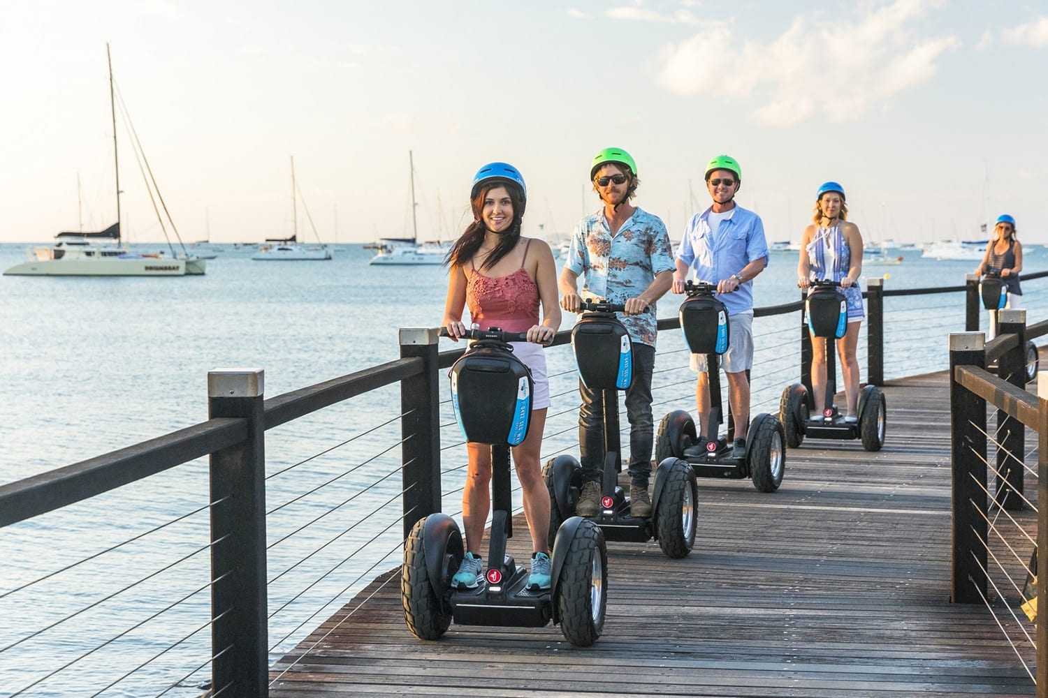 Segway Sunset and Boardwalk Tour including Dinner