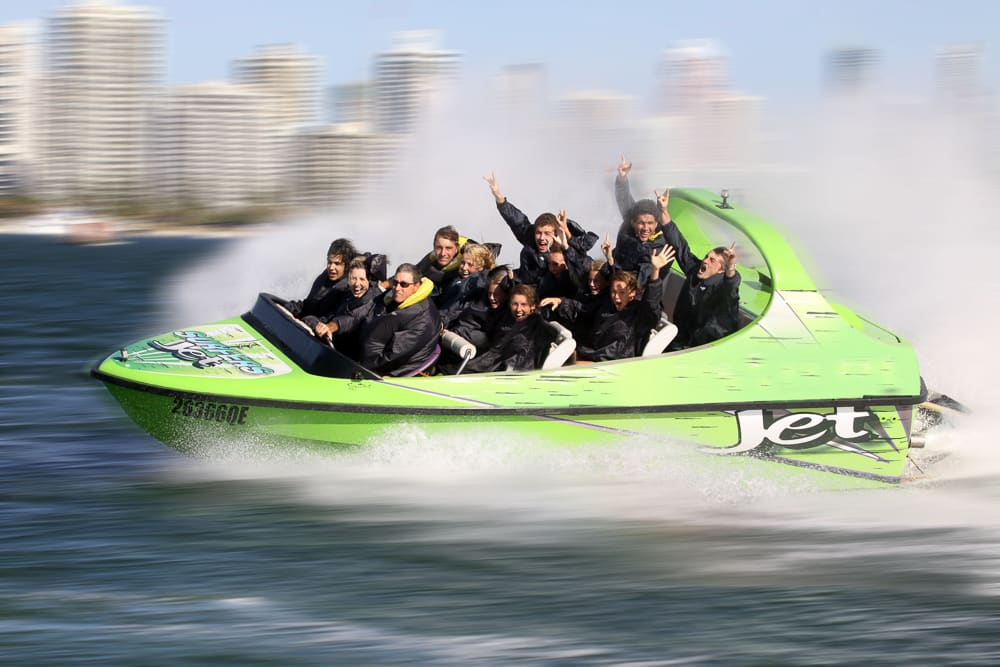 V8 Jet Boat Ride, 1 hour - Surfers Paradise, Gold Coast