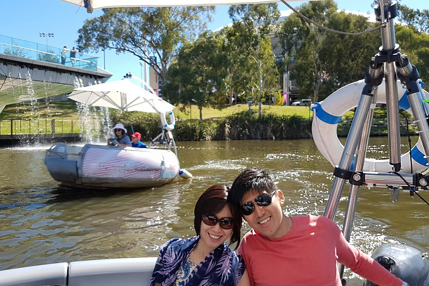 2 Hour BBQ Boat Rental, For 2 - Adelaide