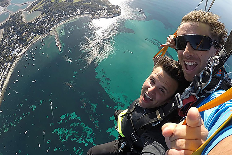 Tandem Skydive 14,000ft Over Rottnest Island & Ferry Pass - Fremantle