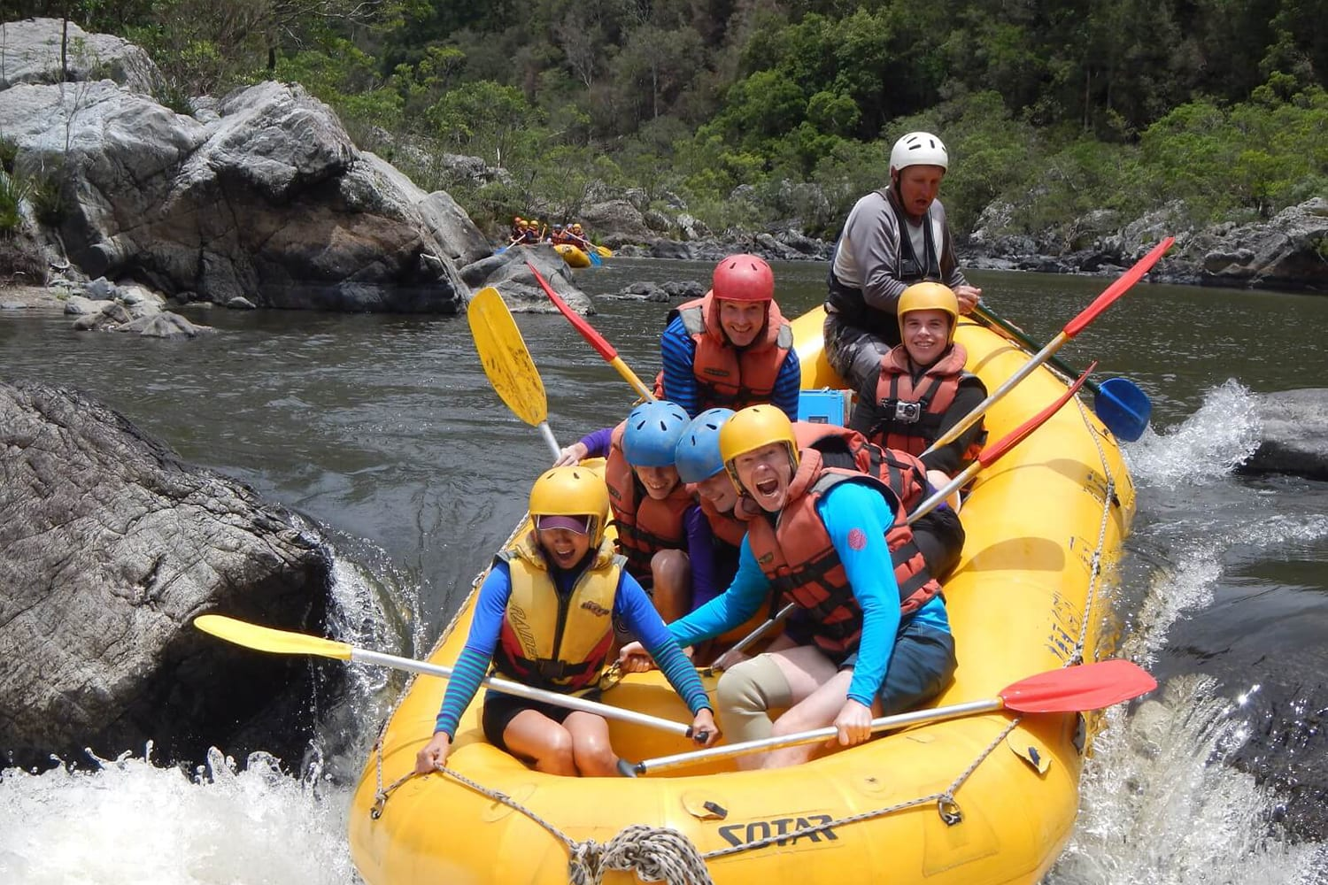 Whitewater Rafting Day Trip - Upper Nymboida River, NSW