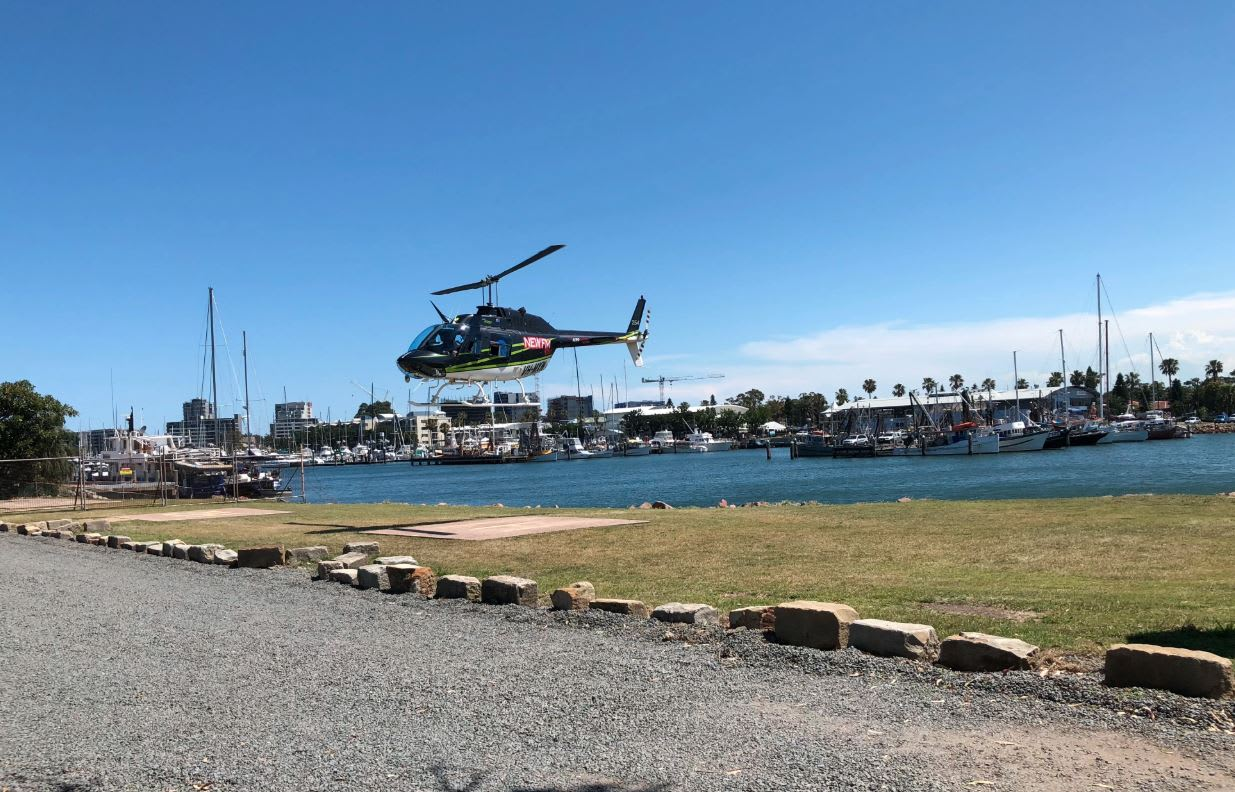 12 Minute Scenic Helicopter Flight, Newcastle - For 2