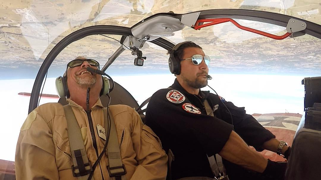 Aerobatic Combat Formation Flight, 30 Minutes - Sydney - For 2