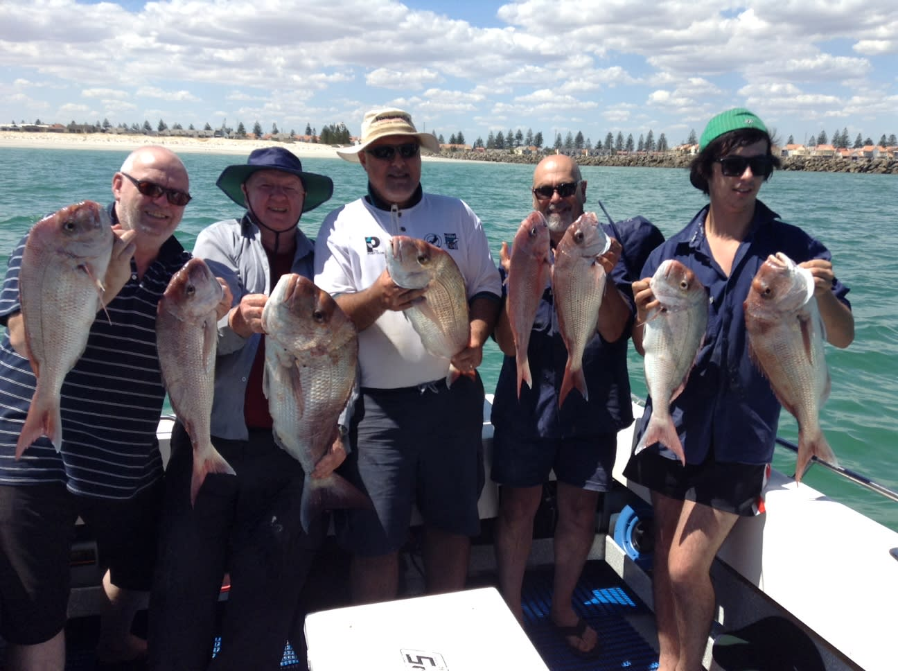Half Day North Haven Fishing Charter - Adelaide