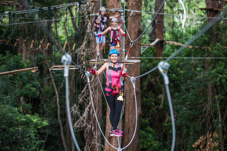 High Ropes & Flying Fox Adventure - Sunshine Coast