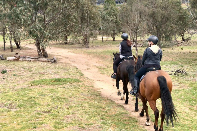 Horse Riding Tour, 1 Hour - Melbourne's Woodlands Historic Park