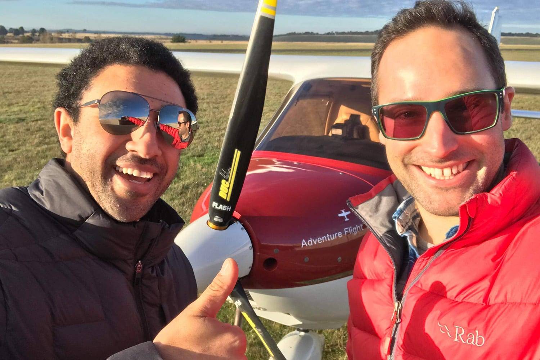 Trial Instructional Flight - Riddell Airfield