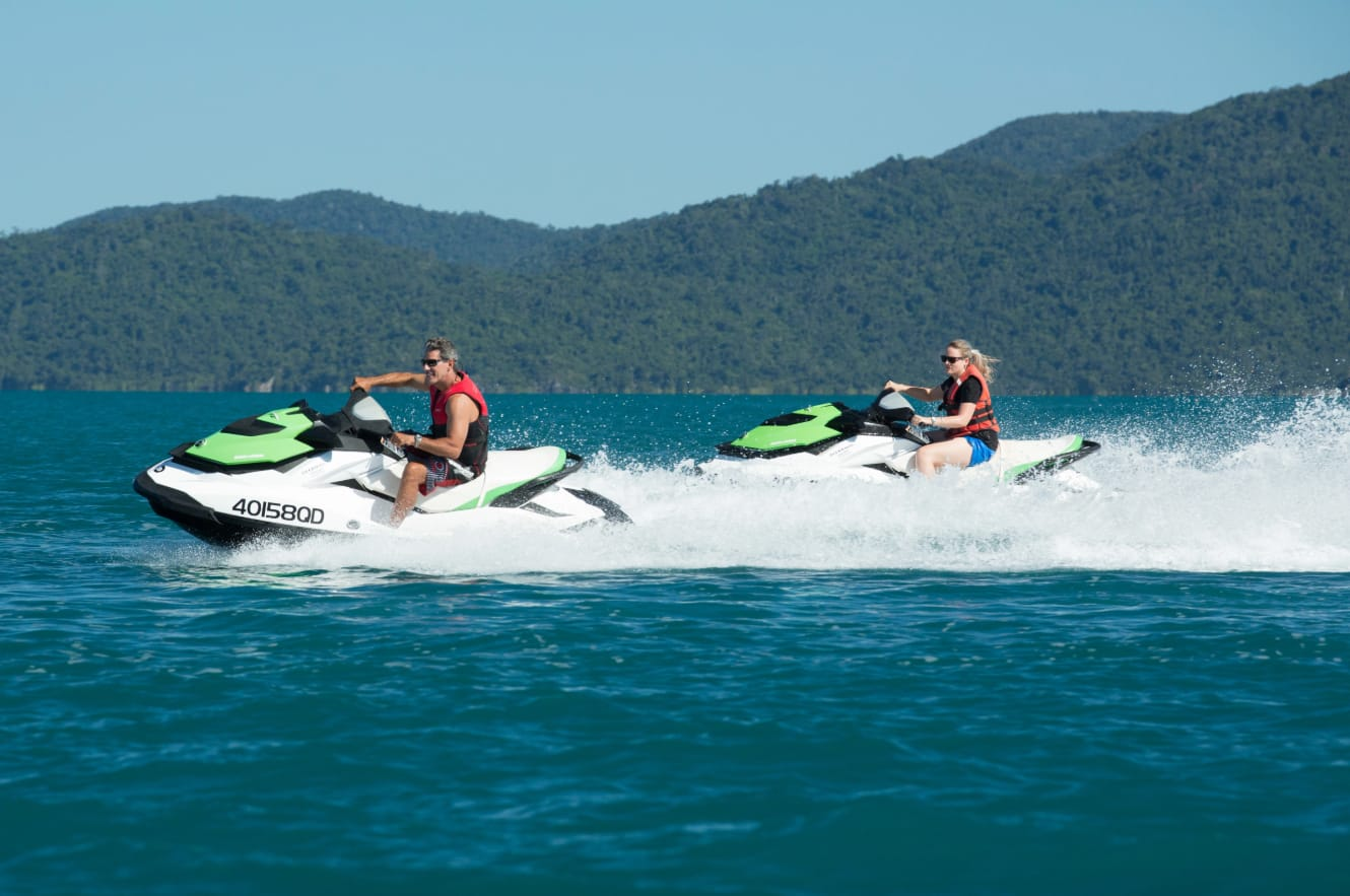 Whitsunday Islands Jet Ski Safari, 2 Hours - Departs Airlie Beach