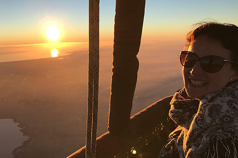 Hot Air Balloon Flight Over Geelong