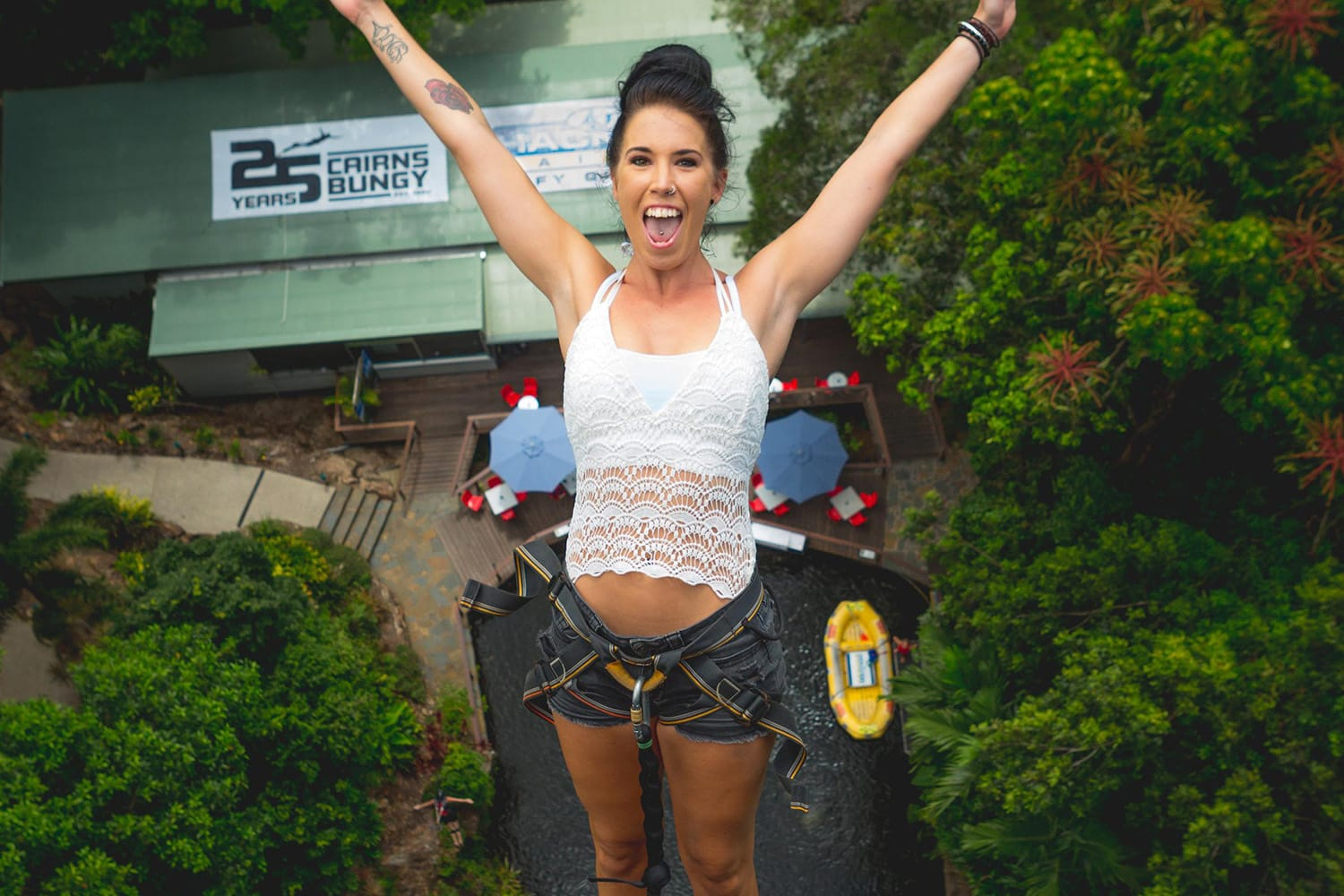 Bungy Jump and Giant Jungle Swing Combo - Cairns
