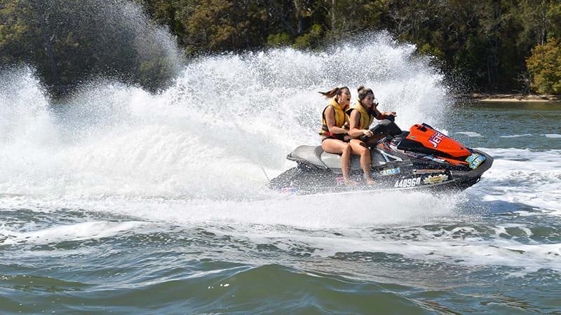 Jet Ski Tour, 90 Minutes - Sunshine Coast - For 2