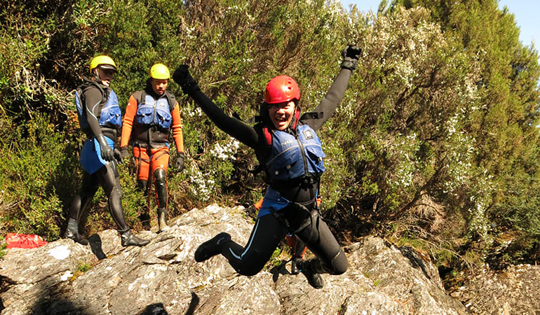 Canyoning Experience, Half Day - Cradle Mountain