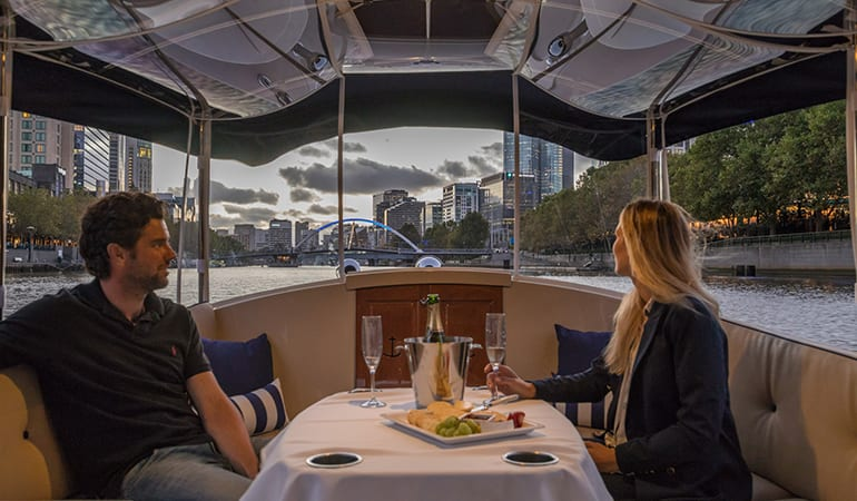 Private Cruise with Wine and Cheese - Melbourne Yarra River