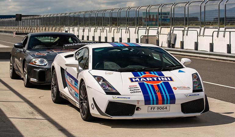 Drive a Lamborghini Race Car, 10 Laps - Symmons Plains Raceway