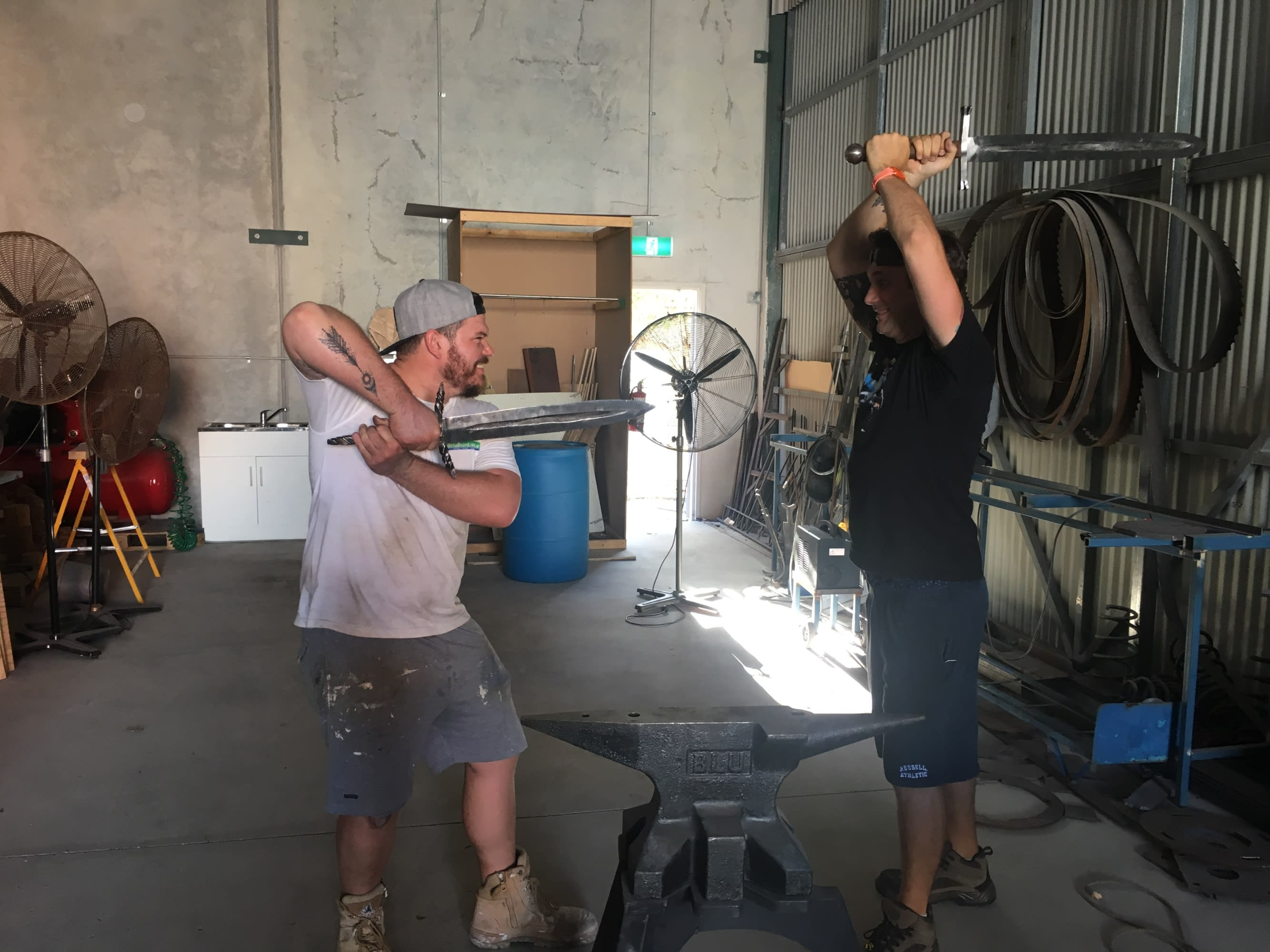 Artisan Blacksmith Course - Narangba, Brisbane
