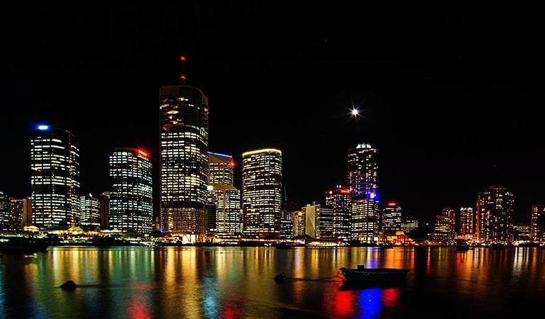 Guided Evening Kayak Tour - Brisbane River